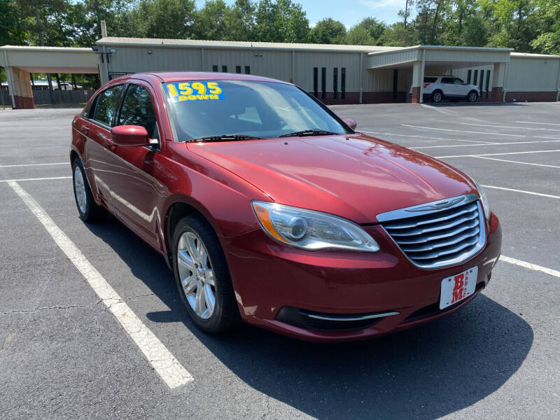 2013 Chrysler 200 for sale at B & M Car Co in Conroe TX