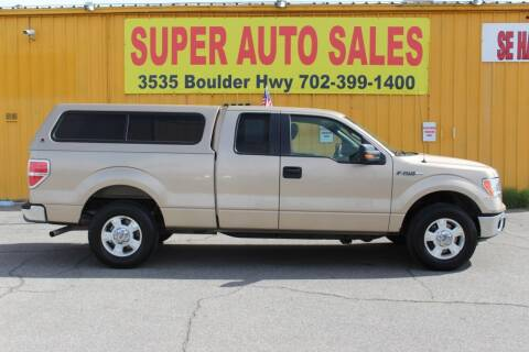 2011 Ford F-150 for sale at Super Auto Sales in Las Vegas NV