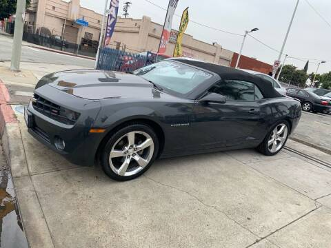 2012 Chevrolet Camaro for sale at Olympic Motors in Los Angeles CA
