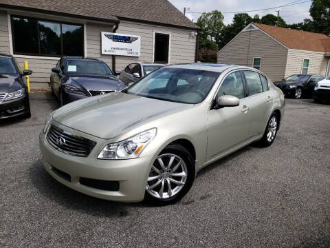 2007 Infiniti G35 for sale at M & A Motors LLC in Marietta GA