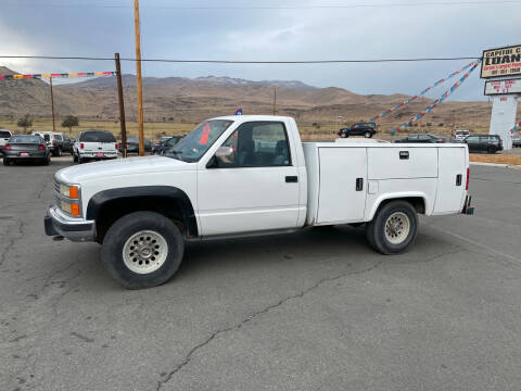 1992 Chevrolet C/K 2500 Series for sale at Super Sport Motors LLC in Carson City NV
