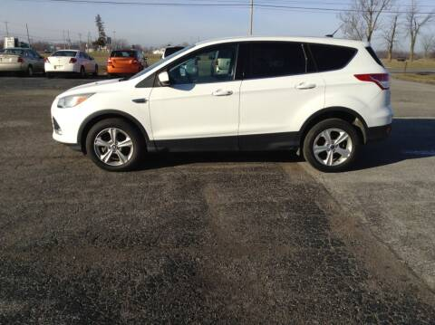 2013 Ford Escape for sale at Kevin's Motor Sales in Montpelier OH