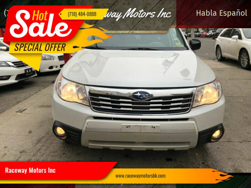 2009 Subaru Forester for sale at Raceway Motors Inc in Brooklyn NY
