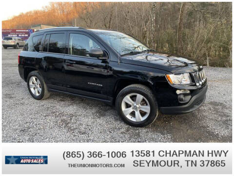 2013 Jeep Compass for sale at Union Motors in Seymour TN
