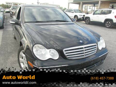 2005 Mercedes-Benz C-Class for sale at Auto World in Carbondale IL