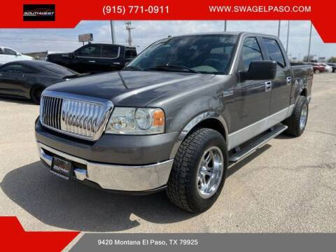 2006 Ford F-150 for sale at SOUTHWEST AUTO GROUP-EL PASO in El Paso TX