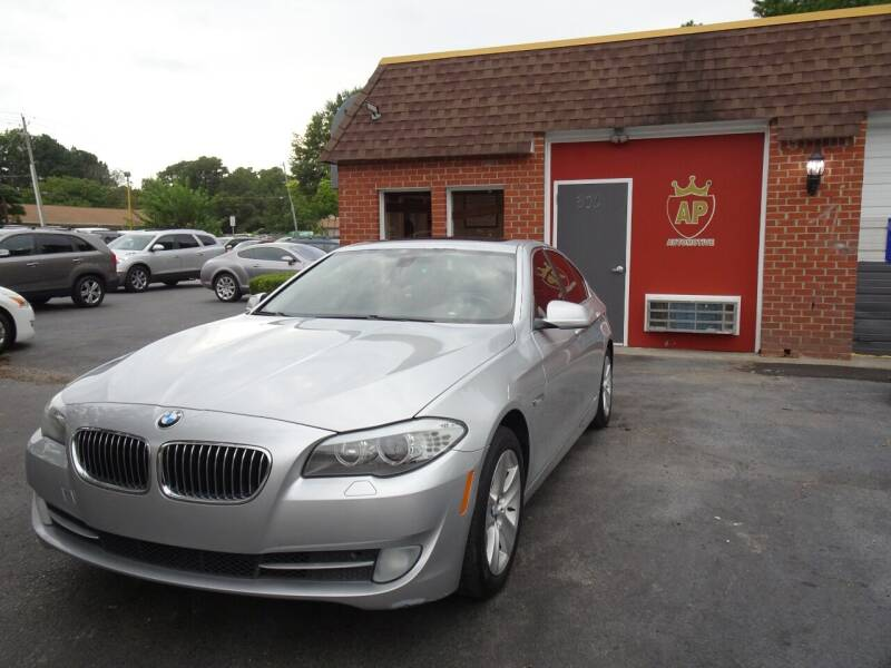 2013 BMW 5 Series for sale at AP Automotive in Cary NC