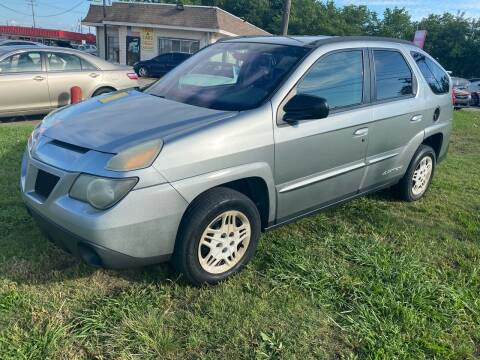 2004 Pontiac Aztek for sale at Cash Car Outlet in Mckinney TX