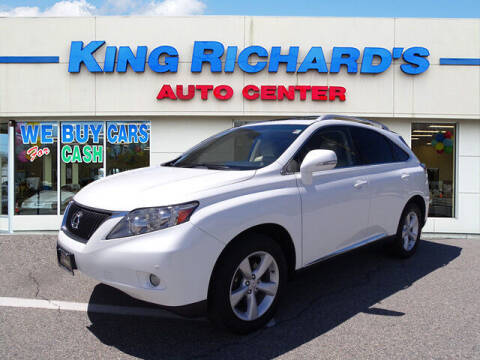 2012 Lexus RX 350 for sale at KING RICHARDS AUTO CENTER in East Providence RI