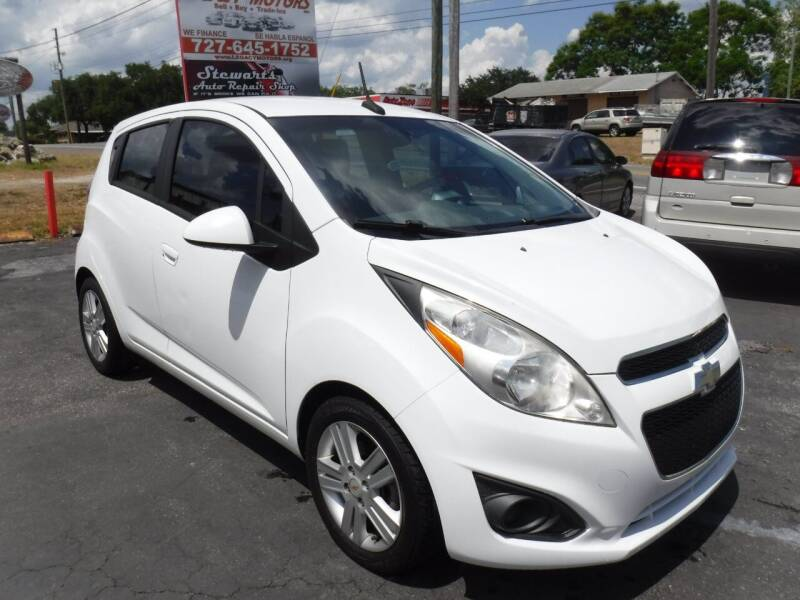 2014 Chevrolet Spark for sale at LEGACY MOTORS INC in New Port Richey FL