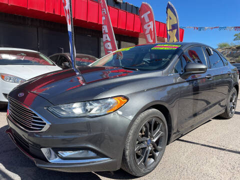 2018 Ford Fusion for sale at Duke City Auto LLC in Gallup NM