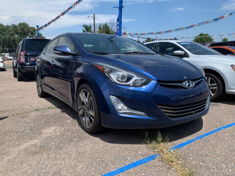 2016 Hyundai Elantra for sale at Nations Auto Inc. II in Denver CO