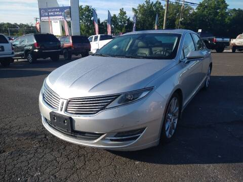 2014 Lincoln MKZ for sale at P J McCafferty Inc in Langhorne PA