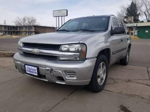 2004 Chevrolet TrailBlazer for sale at Alpine Motors LLC in Laramie WY