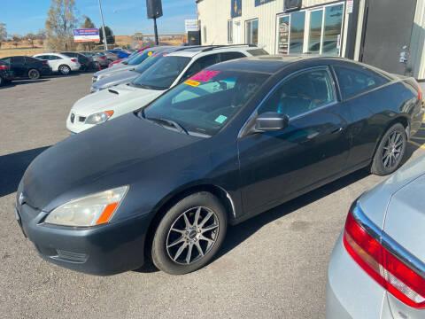 2004 Honda Accord for sale at BELOW BOOK AUTO SALES in Idaho Falls ID