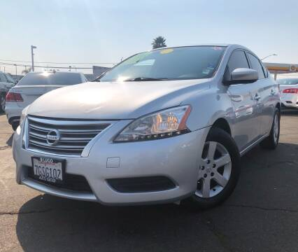 2014 Nissan Sentra for sale at LUGO AUTO GROUP in Sacramento CA