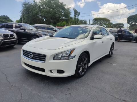 2014 Nissan Maxima for sale at Bargain Auto Sales in West Palm Beach FL
