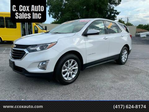 2018 Chevrolet Equinox for sale at C. Cox Auto Sales Inc in Joplin MO
