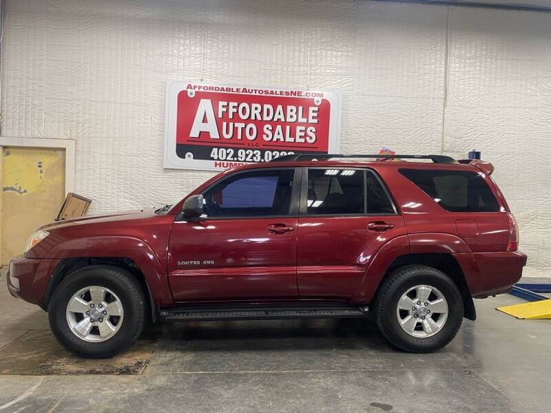 2005 Toyota 4Runner for sale at Affordable Auto Sales in Humphrey NE
