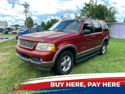 2002 Ford Explorer for sale at Mid City Motors Auto Sales - Mid City North in N Fort Myers FL