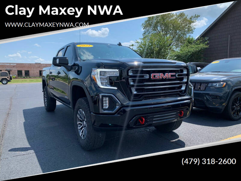 2021 GMC Sierra 1500 for sale at Clay Maxey NWA in Springdale AR
