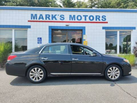 2011 Toyota Avalon for sale at Mark's Motors in Northampton MA
