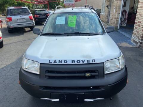 2002 Land Rover Freelander for sale at North Hill Auto Sales in Akron OH