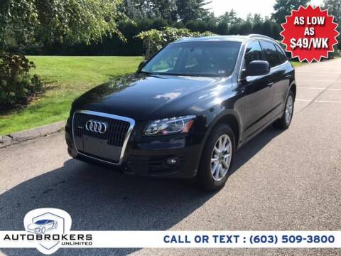 2011 Audi Q5 for sale at Auto Brokers Unlimited in Derry NH
