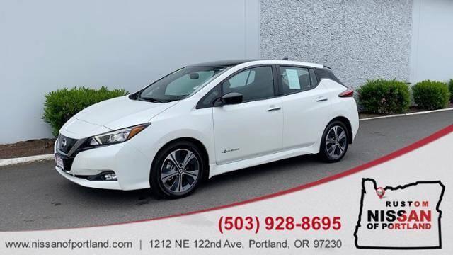 2019 Nissan LEAF for sale in Portland, OR