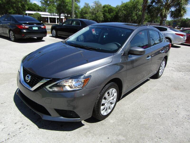 2016 Nissan Sentra for sale at S & T Motors in Hernando FL