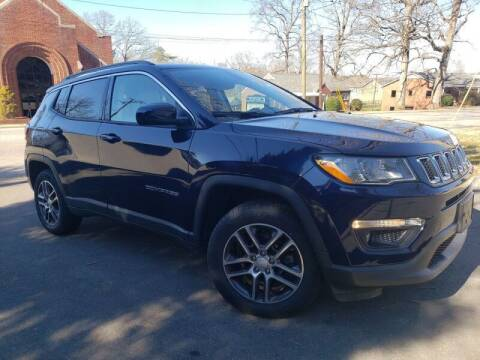 2018 Jeep Compass for sale at McAdenville Motors in Gastonia NC