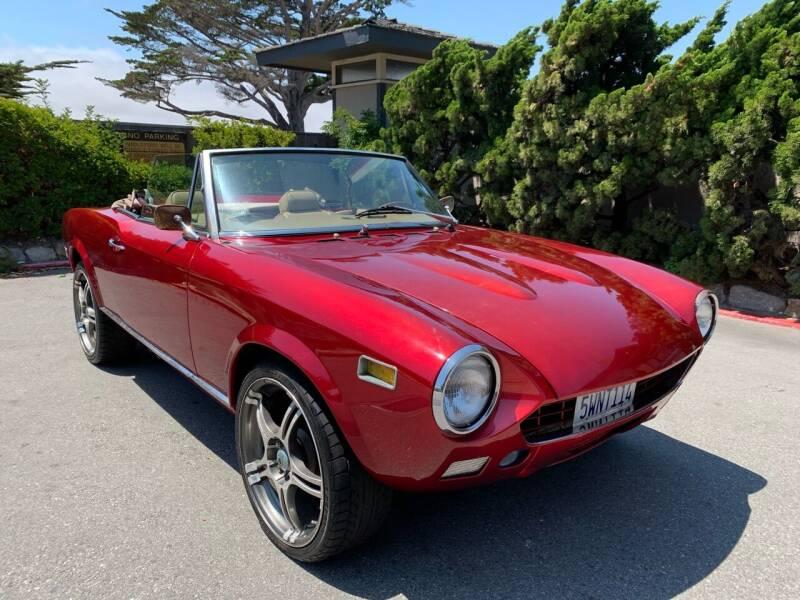 1976 FIAT 124 Spider for sale at Dodi Auto Sales in Monterey CA