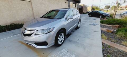 2017 Acura RDX for sale at Masi Auto Sales in San Diego CA