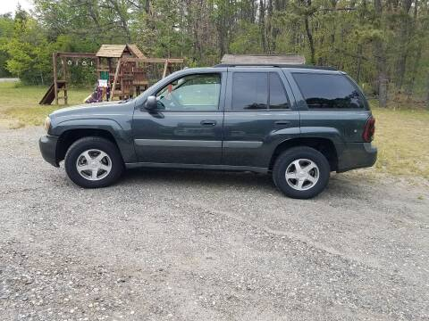 2005 Chevrolet TrailBlazer for sale at MIKE B CARS LTD in Hammonton NJ