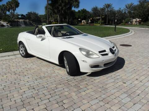 2007 Mercedes-Benz SLK for sale at AUTO HOUSE FLORIDA in Pompano Beach FL