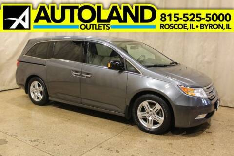 2011 Honda Odyssey for sale at AutoLand Outlets Inc in Roscoe IL