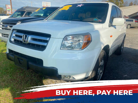 2008 Honda Pilot for sale at WINNERS CIRCLE AUTO EXCHANGE in Ashland KY