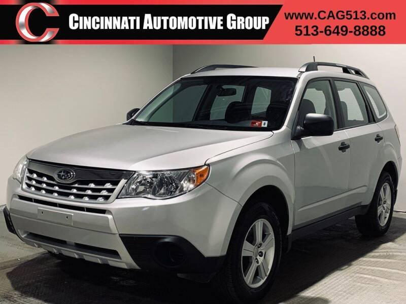 2011 Subaru Forester for sale at Cincinnati Automotive Group in Lebanon OH