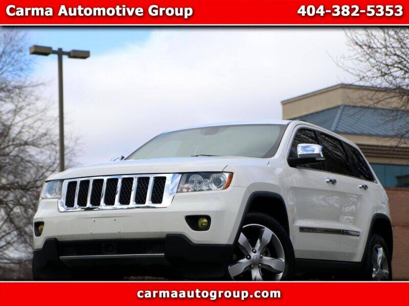 2012 Jeep Grand Cherokee for sale at Carma Auto Group in Duluth GA