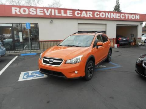 2014 Subaru XV Crosstrek for sale at ROSEVILLE CAR CONNECTION in Roseville CA