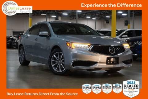 2018 Acura TLX for sale at Dallas Auto Finance in Dallas TX