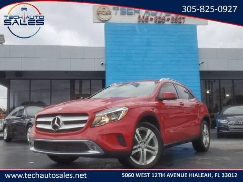 2015 Mercedes-Benz GLA for sale at Tech Auto Sales in Hialeah FL