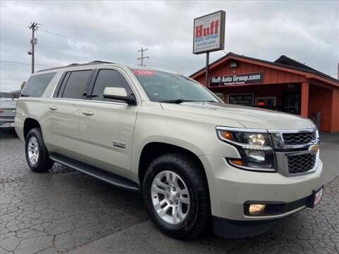 2016 Chevrolet Suburban for sale at HUFF AUTO GROUP in Jackson MI