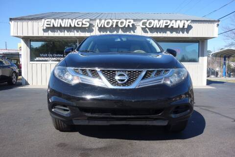 2014 Nissan Murano for sale at Jennings Motor Company in West Columbia SC