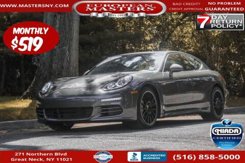 2016 Porsche Panamera for sale at European Masters in Great Neck NY