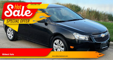 2013 Chevrolet Cruze for sale at Midwest Auto in Naperville IL
