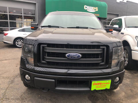 2013 Ford F-150 for sale at Champs Auto Sales in Detroit MI