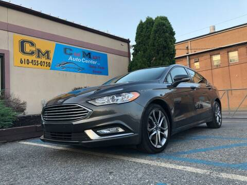 2017 Ford Fusion for sale at Car Mart Auto Center II, LLC in Allentown PA