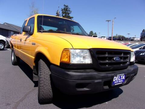 2002 Ford Ranger for sale at Delta Auto Sales in Milwaukie OR