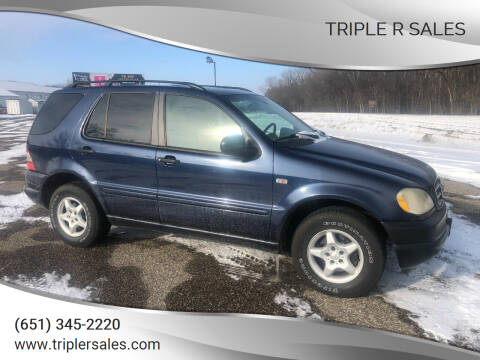 2001 Mercedes-Benz M-Class for sale at Triple R Sales in Lake City MN